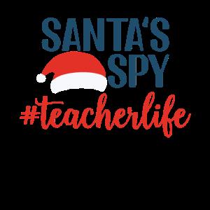 Santas Spy Teacher
