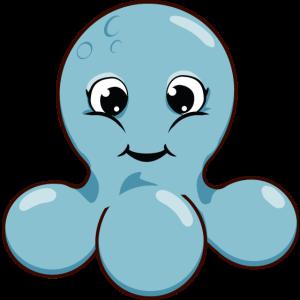 KraBubble die kleine Krake