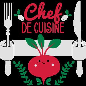 Chef de cuisine - Küchenchef - Koch - Köchin - 3C