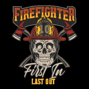 First In Last Out Feuerwehr Rettung Notruf Helden