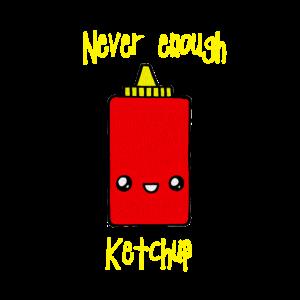 Gesichtsmaske Ketchup haben Geschenk Süß