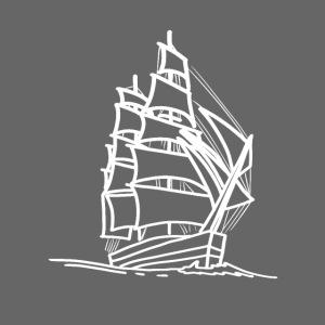 Segelschiff Illustration Meer Schiff Bootsfahrt