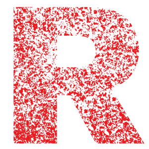 Rocket Revolution, R, Team, Retro, Buchstabe, Rock