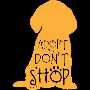 Adopt Don't Shop, haustier hund