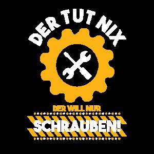 Mechaniker Schrauber Werkstatt Werkzeuge Geschenk