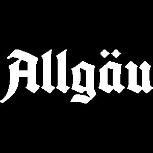 Allgäu Schriftzug - Basic - Für alle Allgäu Fans
