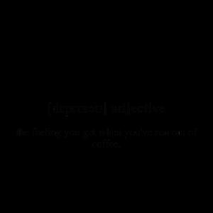 Depresso (Espresso + deprimiert) | Unisex T-Shirt
