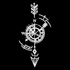 Kompass, Uhr, Navigation , Pfeil, Zeit