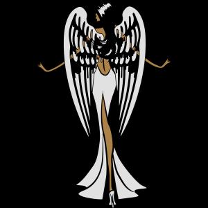 Engel Flügel sexy anmut
