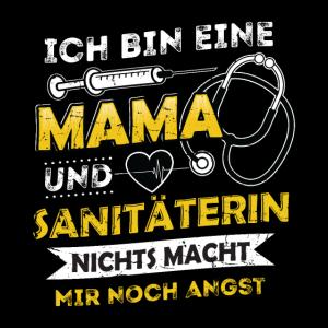 Sanitäterin Mama Rettungsdienst Notfall Geschenk