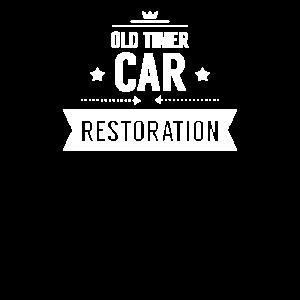 Job Bastler Reparieren Oldtimer Autos restaurieren