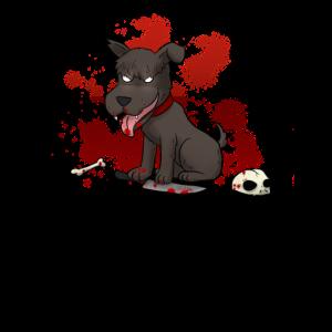 Horror Hund Grusel Blut