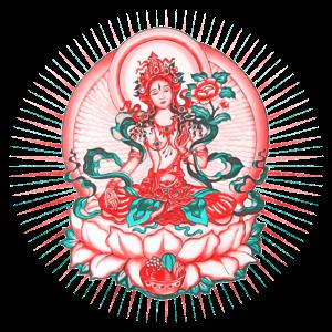 Tara, Tibet Buddhismus, Lotus Meditation, Yoga, Om