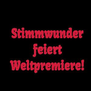 """Geburtstag T-Shirts mit """"Baby Geburt Stimmwunder"""""""