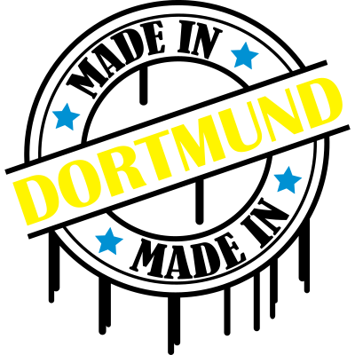 made_in_dortmund_02 - Made in Dortmund - stern,spruch,nrw,hauptstadt,geboren,düsseldorf,dortmund,deutschland,city,born