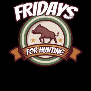 Fridays for Hunting Parodie Freiheit für Jäger