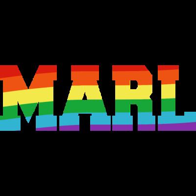 Marl Regenbogenfahne - Marl ist bunt. - transgender,queer,lesbisch,homosexuell,bisexuell,bisexual,Tolleranz,Schwule,Regenbogenflagge,Regenbogenfahne,Regenbogen,Nordrhein-Westfalen Stadt,Marl,Lesben,LGBT,Germany,Gay pride,Deutschland,CSD