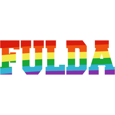 Fulda Regenbogenfahne - Fulda ist bunt. - transgender,queer,lesbisch,homosexuell,bunt,bisexuell,bisexual,Tolleranz,Stadt,Schwule,Regenbogenflagge,Regenbogenfahne,Regenbogen,Lesben,LGBT,Hessen,Germany,Gay pride,Fulda,Deutschland,CSD