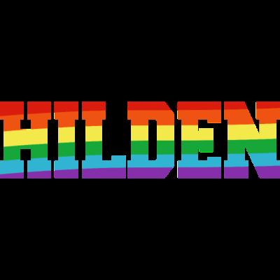 Hilden Regenbogenfahne - Hilden ist bunt. - transgender,queer,lesbisch,homosexuell,bunt,bisexuell,bisexual,Tolleranz,Stadt,Schwule,Regenbogenflagge,Regenbogenfahne,Regenbogen,Nordrhein-Westfalen,Lesben,LGBT,Hilden,Germany,Gay pride,Deutschland,CSD