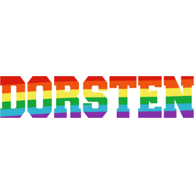 Dorsten Regenbogenfahne - Dorsten ist bunt. - transgender,queer,lesbisch,homosexuell,bunt,bisexuell,bisexual,Tolleranz,Stadt,Schwule,Regenbogenflagge,Regenbogenfahne,Regenbogen,Nordrhein-Westfalen,Lesben,LGBT,Germany,Gay pride,Dorsten,Deutschland,CSD