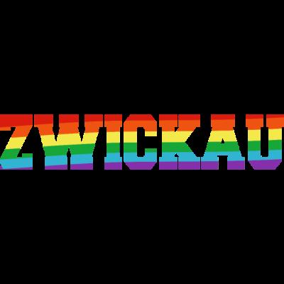 Zwickau Regenbogenfahne - Zwickau ist bunt. - transgender,queer,lesbisch,homosexuell,bunt,bisexuell,bisexual,Zwickau,Tolleranz,Stadt,Schwule,Sachsen,Regenbogenflagge,Regenbogenfahne,Regenbogen,Lesben,LGBT,Germany,Gay pride,Deutschland,CSD