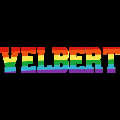 Velbert Regenbogenfahne - Velbert ist bunt. - transgender,queer,lesbisch,homosexuell,bunt,bisexuell,bisexual,Velbert,Tolleranz,Stadt,Schwule,Regenbogenflagge,Regenbogenfahne,Regenbogen,Nordrhein-Westfalen,NRW,Lesben,LGBT,Germany,Gay pride,Deutschland,CSD