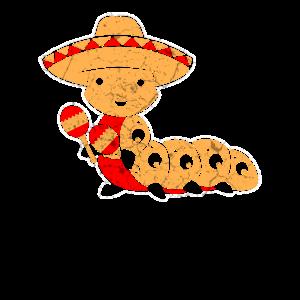 Mexikanische Raupe