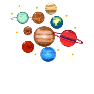 Planeten Sonnensystem Mars Erde Jupiter Saturn