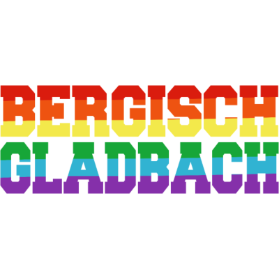 Bergisch Gladbach Regenbogenfahne - Bergisch Gladbach ist bunt. - transgender,queer,lesbisch,homosexuell,bunt,bisexuell,bisexual,Tolleranz,Stadt,Schwule,Regenbogenflagge,Regenbogenfahne,Regenbogen,Nordrhein-Westfalen,Lesben,LGBT,Germany,Gay pride,Deutschland,CSD,Bergisch Gladbach