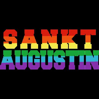 Sankt Augustin Regenbogenfahne - Sankt Augustin ist bunt. - transgender,queer,lesbisch,homosexuell,bunt,bisexuell,bisexual,Tolleranz,Stadt,Schwule,Sankt Augustin,Regenbogenflagge,Regenbogenfahne,Regenbogen,Nordrhein-Westfalen,NRW,Lesben,LGBT,Germany,Gay pride,Deutschland,CSD