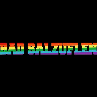 Bad Salzuflen Regenbogenfahne - Bad Salzuflen ist bunt. - transgender,queer,lesbisch,homosexuell,bunt,bisexuell,bisexual,Tolleranz,Stadt,Schwule,Regenbogenflagge,Regenbogenfahne,Regenbogen,Nordrhein-Westfalen,Lesben,LGBT,Germany,Gay pride,Deutschland,CSD,Bad Salzuflen