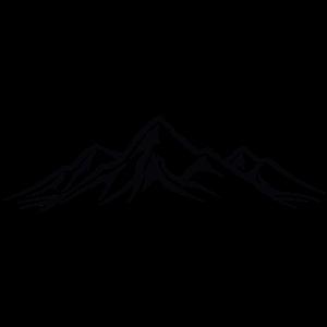 Berge Umriss
