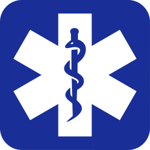 Star of Life Logo App inverted 1-colored