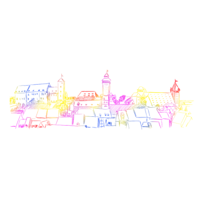 Nürnberg - Nürnberg Silouette  - siluette,silouette,nürnberg,nämberch,nuremberga,nernbärch,mittelfranken,frankonia,Franken
