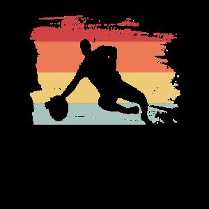 Retro Fussballer Fußball Geschenkidee