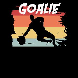 Retro Goalie Fußball Fussball Geschenkidee