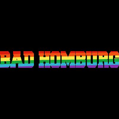 Bad Homburg Regenbogenfahne - Bad Homburg ist bunt. - transgender,queer,lesbisch,homosexuell,bunt,bisexuell,bisexual,Tolleranz,Stadt,Schwule,Regenbogenflagge,Regenbogenfahne,Regenbogen,Lesben,LGBT,Hessen,Germany,Gay pride,Deutschland,CSD,Bad Homburg