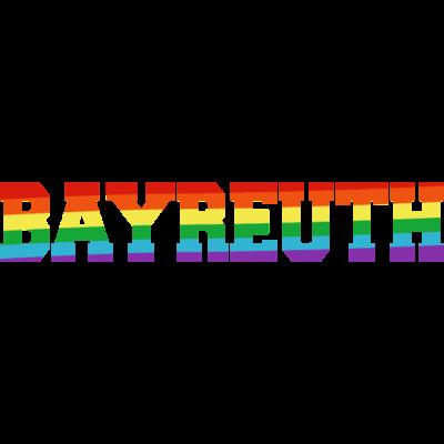 Bayreuth Regenbogenfahne - Bayreuth ist bunt. - transgender,queer,lesbisch,homosexuell,bunt,bisexuell,bisexual,Tolleranz,Stadt,Schwule,Regenbogenflagge,Regenbogenfahne,Regenbogen,Lesben,LGBT,Germany,Gay pride,Deutschland,CSD,Bayreuth,Bayern