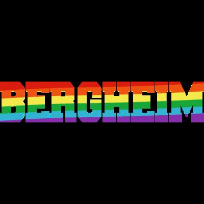 Bergheim Regenbogenfahne - Bergheim ist bunt. - transgender,queer,lesbisch,homosexuell,bunt,bisexuell,bisexual,Tolleranz,Stadt,Schwule,Regenbogenflagge,Regenbogenfahne,Regenbogen,Nordrhein-Westfalen,NRW,Lesben,LGBT,Germany,Gay pride,Deutschland,CSD,Bergheim