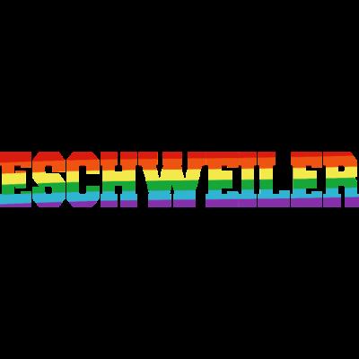 Eschweiler Regenbogenfahne - Eschweiler ist bunt. - transgender,queer,lesbisch,homosexuell,bunt,bisexuell,bisexual,Tolleranz,Stadt,Schwule,Regenbogenflagge,Regenbogenfahne,Regenbogen,Nordrhein-Westfalen,NRW,Lesben,LGBT,Germany,Gay pride,Eschweiler,Deutschland,CSD