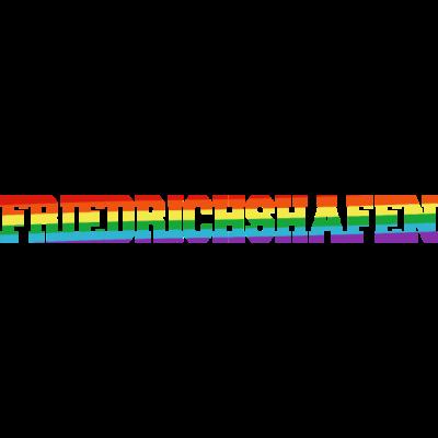 friedrichshafen Regenbogenfahne - Friedrichshafen ist bunt. - transgender,queer,lesbisch,homosexuell,bunt,bisexuell,bisexual,Tolleranz,Stadt,Schwule,Regenbogenflagge,Regenbogenfahne,Regenbogen,Lesben,LGBT,Germany,Gay pride,Friedrichshafen,Deutschland,CSD,Baden-Württemberg