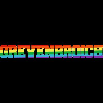 grevenbroich Regenbogenfahne - Grevenbroich ist bunt. - transgender,queer,lesbisch,homosexuell,bunt,bisexuell,bisexual,Tolleranz,Stadt,Schwule,Regenbogenflagge,Regenbogenfahne,Regenbogen,Nordrhein-Westfalen,NRW,Lesben,LGBT,Grevenbroich,Germany,Gay pride,Deutschland,CSD