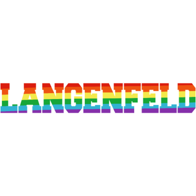 Langenfeld Regenbogenfahne - Langenfeld ist bunt. - transgender,queer,lesbisch,homosexuell,bunt,bisexuell,bisexual,Tolleranz,Stadt,Schwule,Regenbogenflagge,Regenbogenfahne,Regenbogen,Nordrhein-Westfalen,NRW,Lesben,Langenfeld,LGBT,Germany,Gay pride,Deutschland,CSD