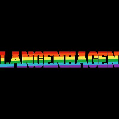 Langenhagen Regenbogenfahne - Langenhagen ist bunt. - transgender,queer,lesbisch,homosexuell,bunt,bisexuell,bisexual,Tolleranz,Stadt,Schwule,Regenbogenflagge,Regenbogenfahne,Regenbogen,Niedersachsen,Lesben,Langenhagen,LGBT,Germany,Gay pride,Deutschland,CSD