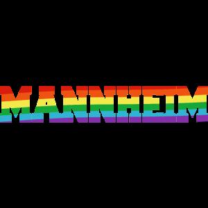 Mannheim Regenbogenfahne