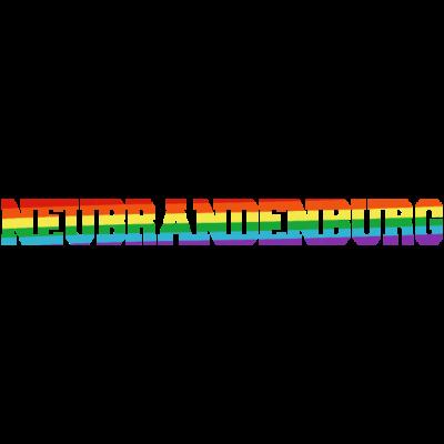 Neubrandenburg Regenbogenfahne - Neubrandenburg ist bunt. - transgender,queer,lesbisch,homosexuell,bunt,bisexuell,bisexual,Tolleranz,Stadt,Schwule,Regenbogenflagge,Regenbogenfahne,Regenbogen,Neubrandenburg,Mecklenburg-Vorpommern,Lesben,LGBT,Germany,Gay pride,Deutschland,CSD