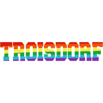 Troisdorf Regenbogenfahne - Troisdorf ist bunt. - transgender,queer,lesbisch,homosexuell,bunt,bisexuell,bisexual,Troisdorf,Tolleranz,Stadt,Schwule,Regenbogenflagge,Regenbogenfahne,Regenbogen,Nordrhein-Westfalen,NRW,Lesben,LGBT,Germany,Gay pride,Deutschland,CSD