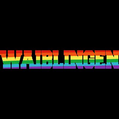 Waiblingen Regenbogenfahne - Waiblingen ist bunt. - transgender,queer,lesbisch,homosexuell,bunt,bisexuell,bisexual,Waiblingen,Tolleranz,Stadt,Schwule,Regenbogenflagge,Regenbogenfahne,Regenbogen,Lesben,LGBT,Germany,Gay pride,Deutschland,CSD,Baden-Württemberg