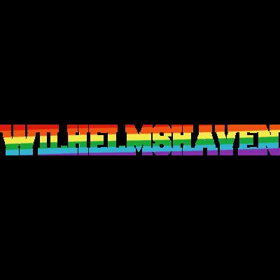 Wilhelmshaven Regenbogenfahne - Wilhelmshaven ist bunt. - transgender,queer,lesbisch,homosexuell,bunt,bisexuell,bisexual,Wilhelmshaven,Tolleranz,Stadt,Schwule,Regenbogenflagge,Regenbogenfahne,Regenbogen,Niedersachsen,Lesben,LGBT,Germany,Gay pride,Deutschland,CSD