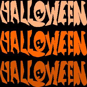Halloween Schriftzug KOSTUEME